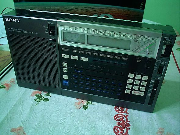 sony dream machine icf c707 manual